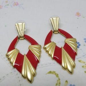 Vintage Retro Earrings